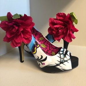 Shoes - Iron fist day of the dead heels